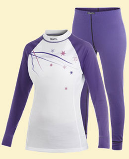 Распродажа! - Craft Active Multi 2-pack Women (размер - XL, цвет - 2462 Vision/White/Orchid)