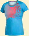 Craft Performance Run Sublimated Tee Wmn