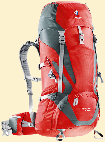 Deuter ACT Lite fire-granite