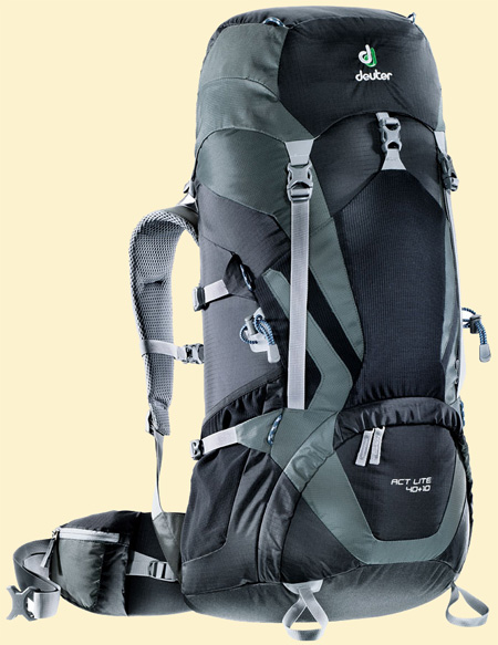Deuter ACT Lite black-granite