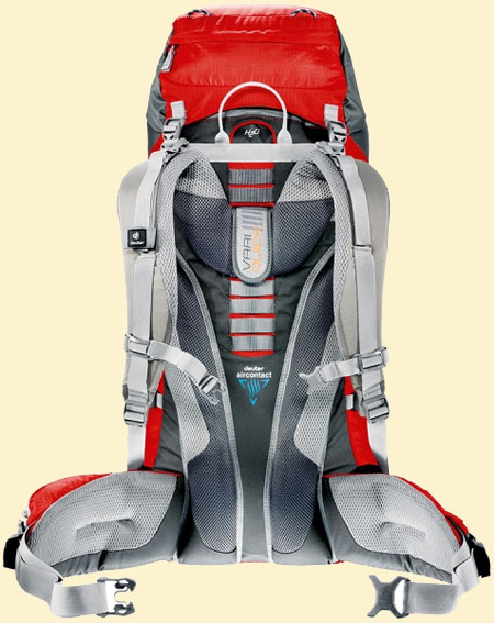 Deuter ACT Lite спинка