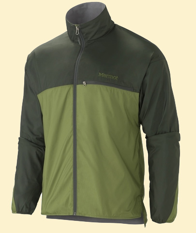 Marmot DriClime Windshirt Forest-fatigue