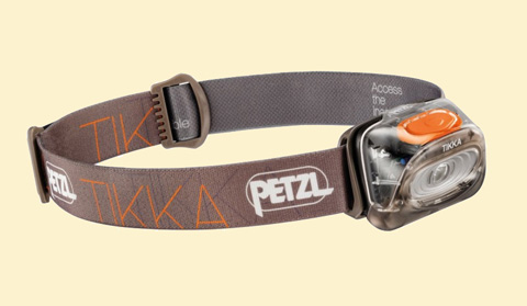 Petzl TIKKA orange