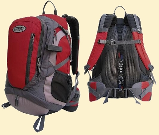 Terra Incognita Compass 30 cherry-gray-light gray