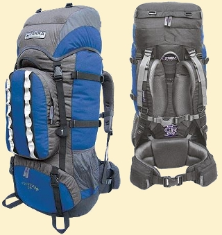 Terra Incognita Mountain 50 blue-gray