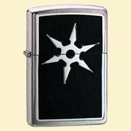 Zippo Зажигалка 20334 6 Point Throwing Star